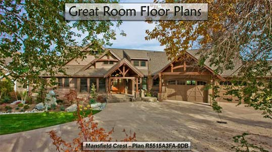 Click to view Great Room Floor Plans.
